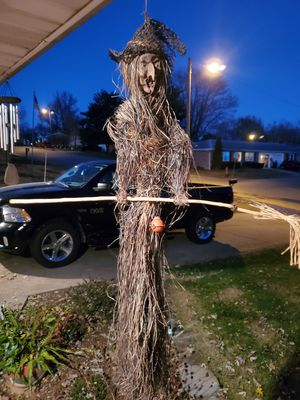 Witch outdoor decor for Sale in Boonville, IN