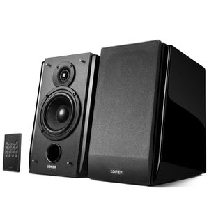Edifier R1850DB Active Bookshelf Speakers with Bluetooth and Optical Input - 2.0 Studio Monitor Speaker - Built-in Amplifier with Subwoofer Line Out for Sale in East Newark, NJ