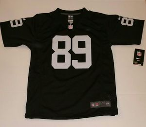Oakland Raiders Amari Cooper #89 Black Home Nike Jersey Youth Large for Sale in East Los Angeles, CA