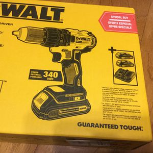 Dewalt 20v drill kit for Sale in Warrenton, VA
