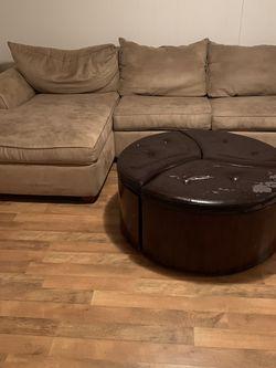 Couch & Ottoman - READ POST for Sale in Wilmington,  DE