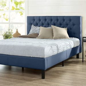 Upholstered king bed frame - Brand New - Delivery available for Sale in Phoenix, AZ