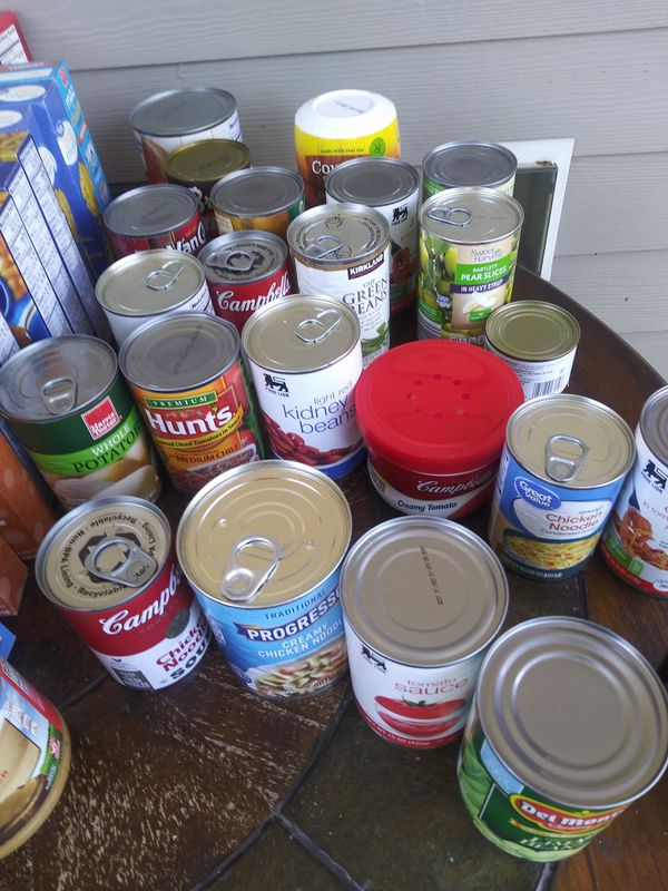 Free Canned and Boxxx Food😀 Porch Pick Up