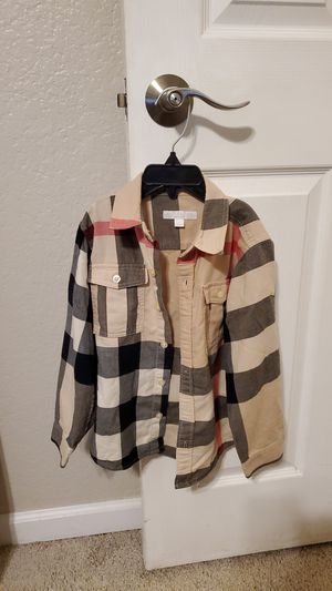 Authentic Burberry Kids Button Down Shirt. Size 6Y. for Sale in Mission Viejo, CA