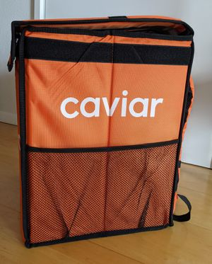 Caviar Delivery Bag - Insulated Backpack for Sale in Seattle, WA