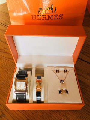 Designer Jewelry Set New In Box watch bracelet earring necklace for Sale in Thornton, CO