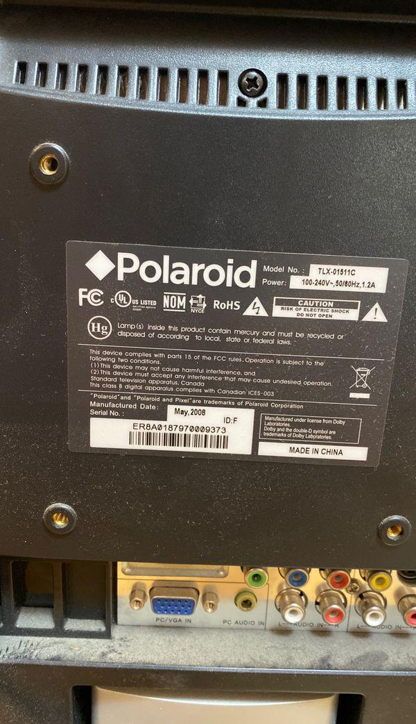 "Polaroid Television 13"""