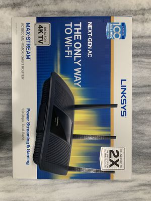 Linksys AC1900 Router for Sale in Irvine, CA