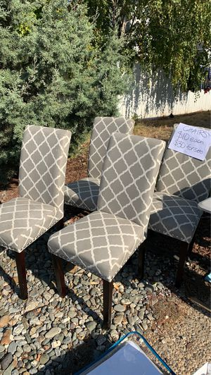 Fabric Dining chairs for Sale in Chico, CA