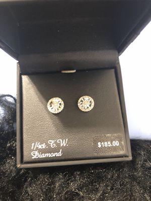 Diamond Earring for Sale in Triangle, VA
