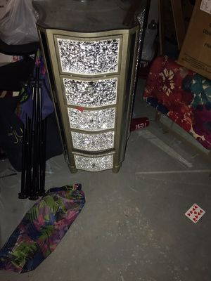 Glass dresser for Sale in Detroit, MI