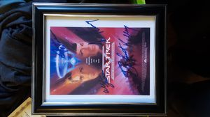 Star Trek The Final Frontier signed document for Sale in Lakeside, AZ