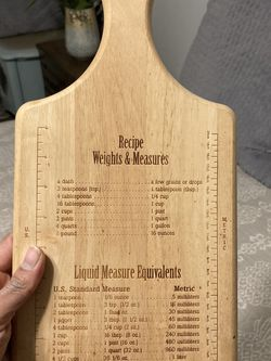 Wooden Cutting Board or Kitchen Wall Decor for Sale in San Diego,  CA