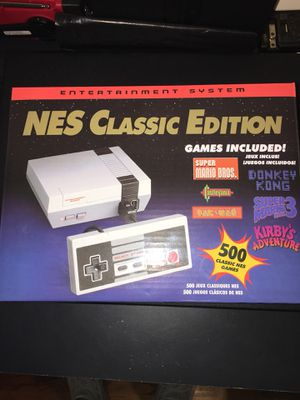 NES mini version 500 games brand new not the 30 please read this is coming whit the best retro games for Sale in Cumberland, RI