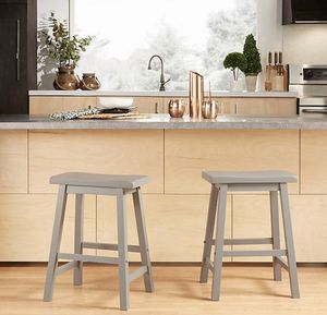 iNSPIRE Q Calera Saddle Stools (Set of 2) for Sale in Charlotte, NC