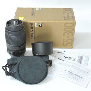 Nikon AF-S DX NIKKOR 55-300mm f/4.5-5.6G ED Vibration Reduction Zoom L for Sale in Houston, TX
