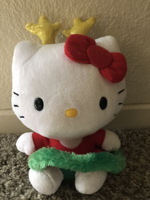 "Christmas Hello Kitty TY's Collector's 6-1/2"" for Sale in Ceres, CA"