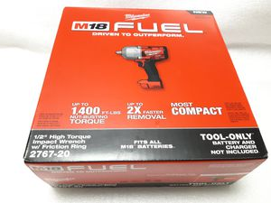 "Milwaukee M18 Fuel Brushless 1/2"" High Torque Impact Wrench NEW for Sale in Renton, WA"