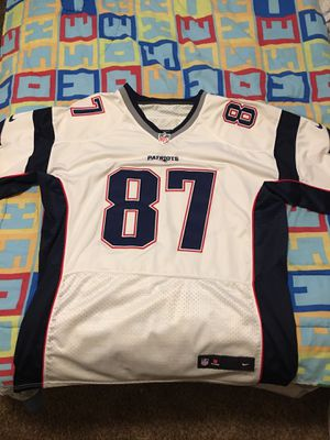 Patriots Jersey #87 Gronkowski for Sale in El Paso, TX