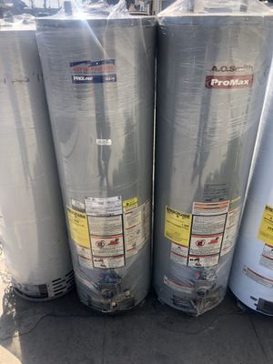 Water heaters heaters and wall heaters sales new and used boilers for Sale in Los Angeles, CA