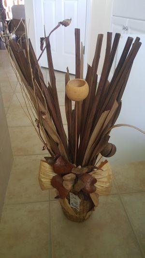 Decorative basket flowers for Sale in Lehigh Acres, FL