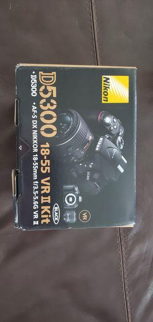 Nikon Camera D5300 18-55 VR II Kit for Sale in Saginaw, TX