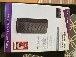 Netgear n600 modem router for Sale in Miami, FL