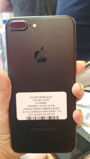 iPhone 7 plus boost mobile for Sale in Las Vegas, NV