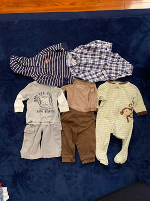 BABY BOY CLOTHES FOR 9 MONTHS for Sale in Alexandria, VA