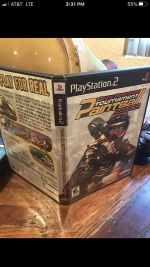 Greg Hastings Paintball PS2 Game for Sale in Oakland Park, FL