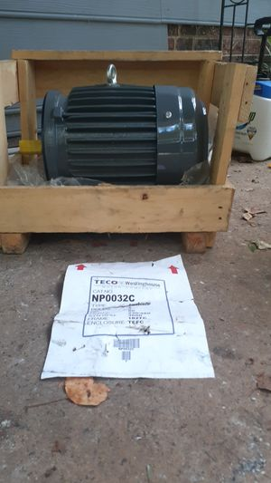 Electric motor new best offer for Sale in Charlotte, NC
