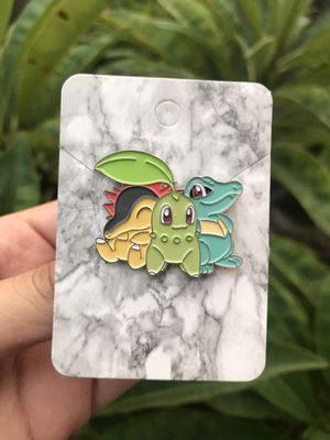 Cyndaquil Chikorita Totodile Pokemon Pin for Sale in Anaheim, CA