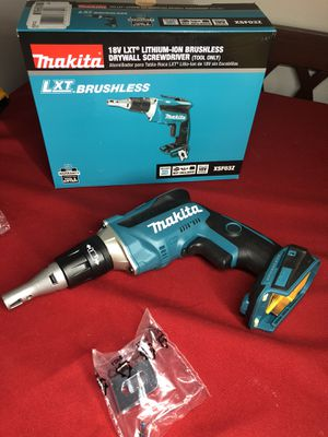 Makita 18-Volt LXT Lithium-Ion Brushless Cordless Drywall Screwdriver with Push Drive Technology (Tool-Only) for Sale in Anaheim, CA