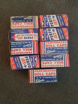 9 Boxes Cap Gun Cabs Sealed 1960s for Sale in Washington, DC