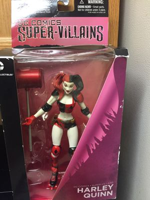 Collectible Harley Quinn action figured from D.C. for Sale in Waterbury, CT