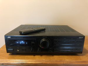 JVC RX-212 Stereo Receiver w/ Remote for Sale in Cary, NC