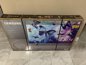 Firm price Samsung 55 inch QLED smart TV Q6F for Sale in Hialeah, FL