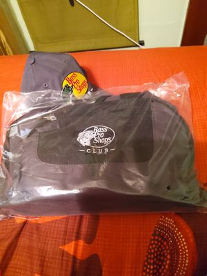 Bass Pro Shops Hat and Duffel Bag New for Sale in Swatara, PA