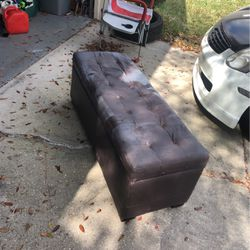 Cushioned Bench W/ Storage Slot for Sale in Zephyrhills,  FL