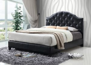 Black queen bed frame New for Sale in Baltimore, MD