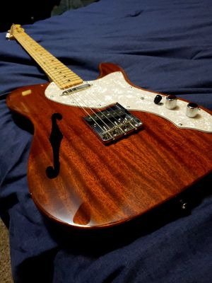 Squier CV 60s tele w/gig bag for Sale in Land O' Lakes, FL