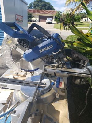 Kobalt miter saw 12 inches for Sale in Miami, FL