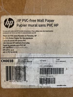 "HP PVC Free Wallpaper 7mil 54"" x 100ft for Sale in West Lake Hills, TX"