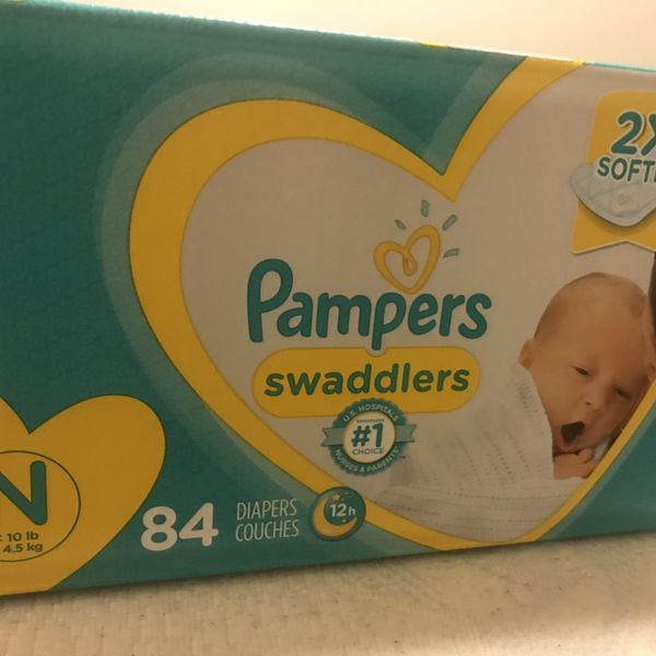 Newborn diapers (Pampers)