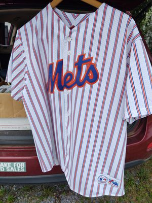 Official NY Mets Baseball Button Down Shirt for Sale in Fort Defiance, VA