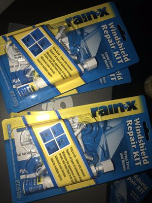 Rain-X Fix a Windshield Repair Kit, for Chips, Cracks, Bulll's-Eyes and Stars for Sale in Delray Beach, FL