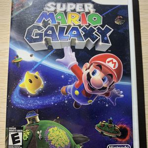 Nintendo Wii Super Mario Galaxy Complete Works Great. for Sale in Agawam, MA