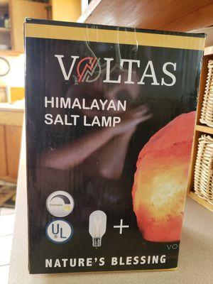 Volts Himalayan Salt Lamp for Sale in Tacoma, WA