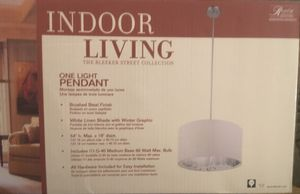 Indoor living pendant light for Sale in Delta, CO