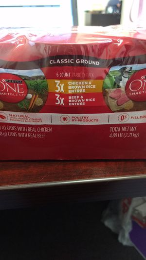 Purina One Dog Food for Sale in Fishersville, VA